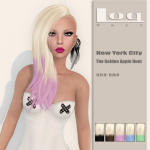 LoQ Hair - NYC The Golden Apple Hunt