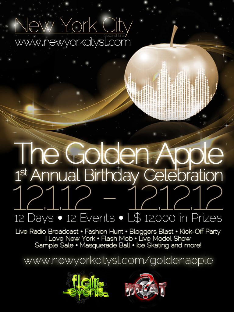 1st Annual Golden Apple Birthday Celebration
