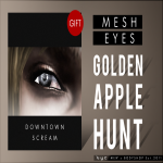 Vyc _Golden Apple Hunt_ Gift Downtown Screamer Mesh Eyes Poster