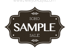 New York City|SoHo Sample Sale