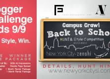 College Campus Back to School Hunt Blogger Challenge